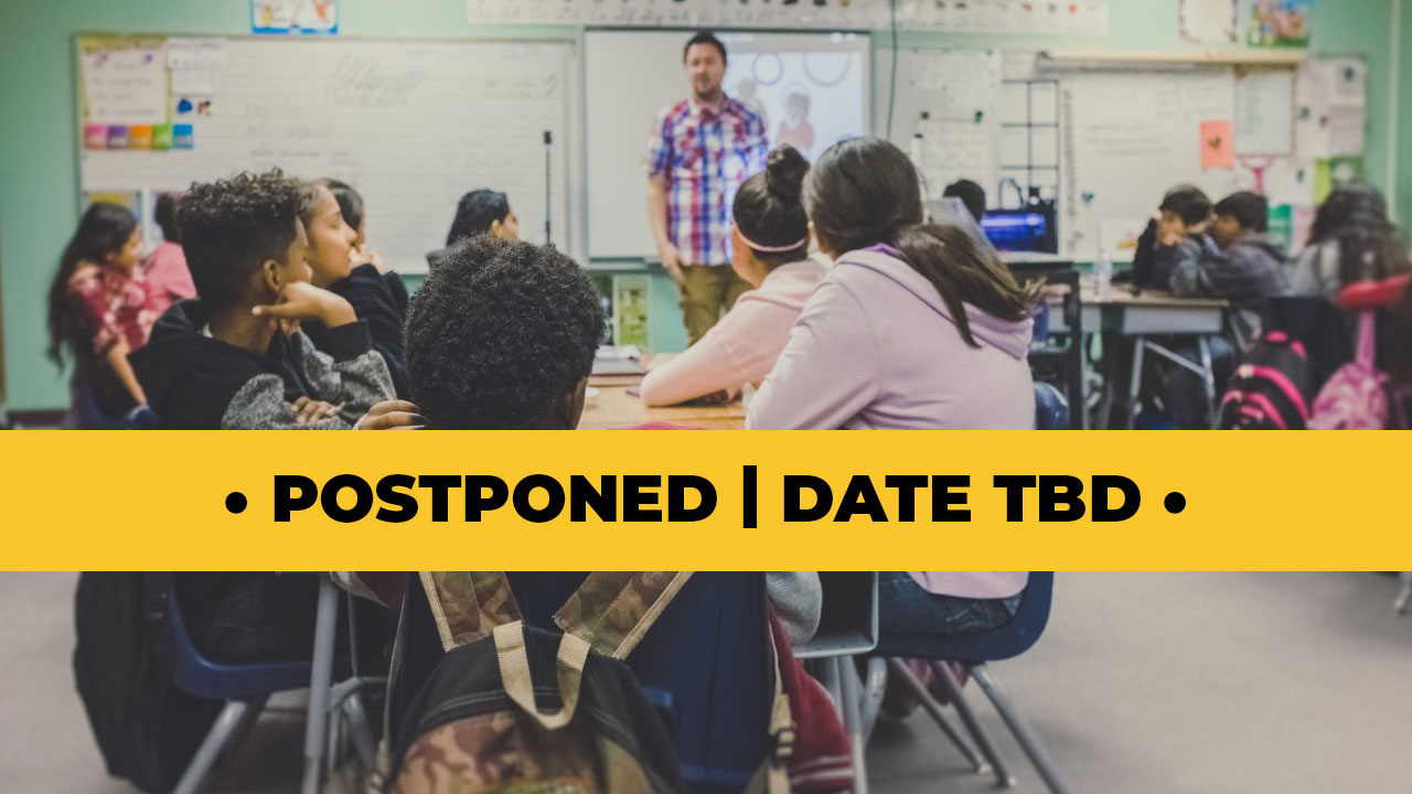 Back To School Outreach Postponed